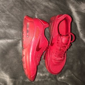 Bright Red Nike Airmax